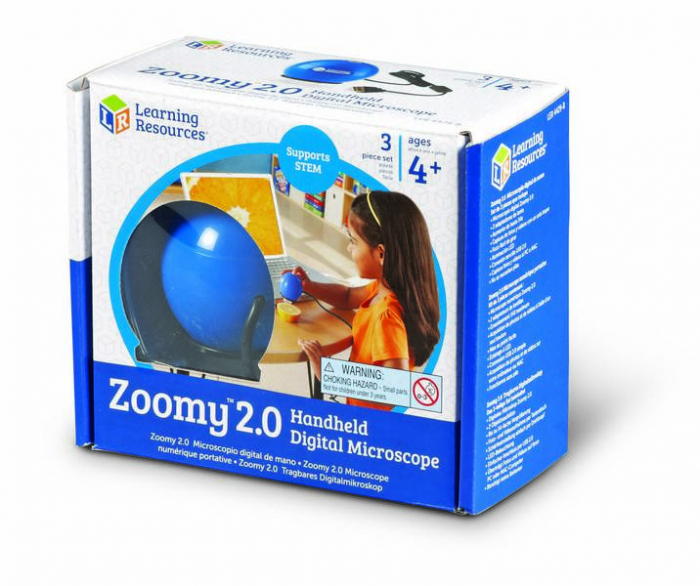 Zoomy - microscop digital portabil pentru copii Learning Resources 3