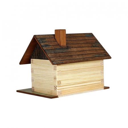 Set de construit din lemn Walachia - Cabana din lemn 64 piese1