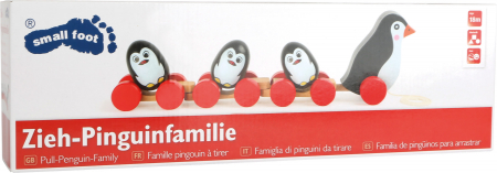 Jucarie de tras Familia de pinguini [1]