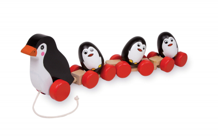 Jucarie de tras Familia de pinguini [0]