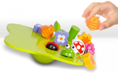 Joc educativ de echilibru Gradina / Wobbly Garden [2]