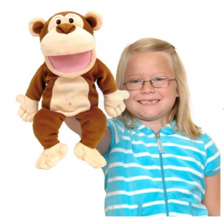 Personaj teatrul de papusi - Maimuta / Big monkey puppet1