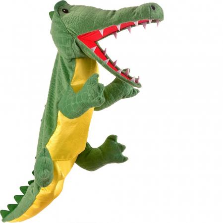 Personaj teatrul de papusi - Crocodilul / Big crocodile puppet1