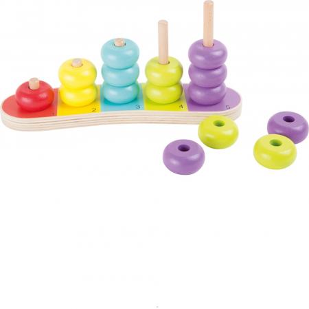 Abac cu discuri colorate - Legler0