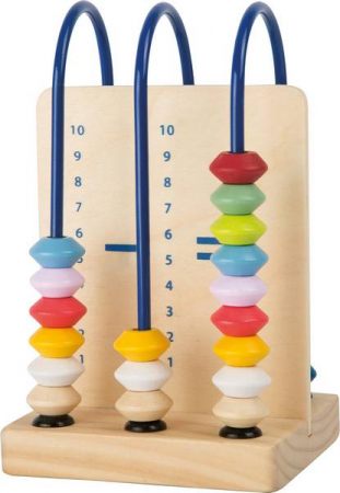 """Abac din lemn / Small Abacus Learning Toy """"Educate""""2"""