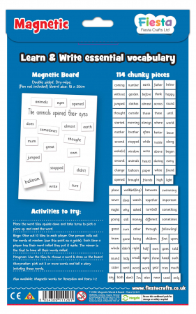 Activitati cu litere magnetice pentru avansati / Magnetic words & board for year 3,4 & 52