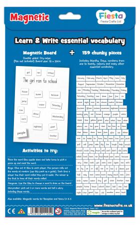 Activitati cu litere magnetice pentru incepatori / Magnetic words Board for year 1-21