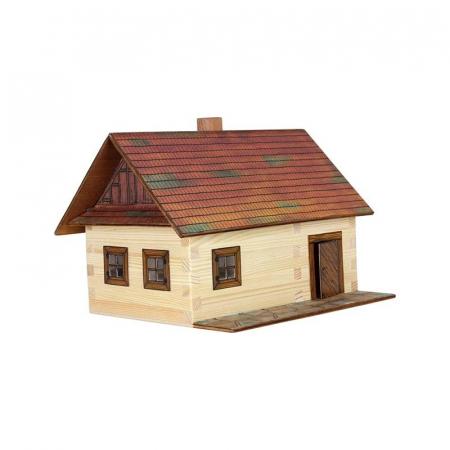 Cabana de lemn - joc educativ de construit Walachia0