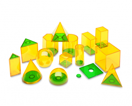 Forme geometrice Geosolids - jucarie educativa Learning Resources1