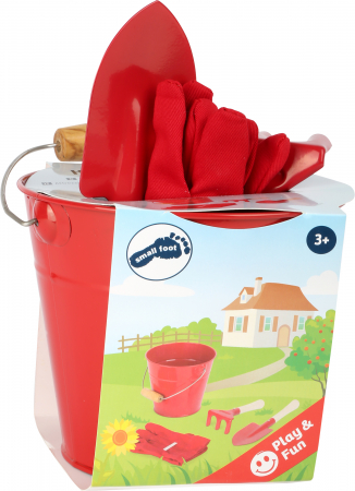 Galetusa cu ustensile de gradinarit / Little Garden Helpers with Bucket - Legler2