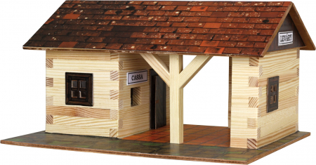 Gara de tren - joc educativ de construit Walachia [0]