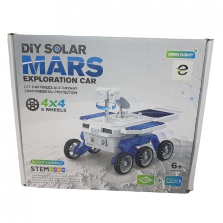 Masina de explorare spatiala cu baterie solara2