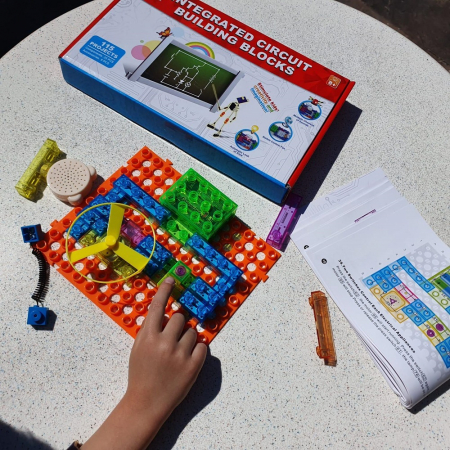 Joc constructie cu circuite integrate 115 proiecte [7]