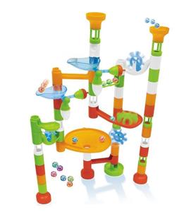 Joc de constructie - labirint cu bile - 80 piese [1]