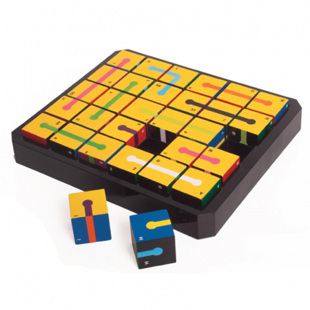 Joc educativ 30 Cubed The Happy Puzzle Company1