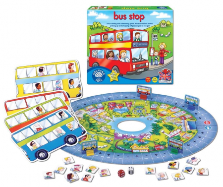 Joc educativ Autobuzul / BUS STOP1