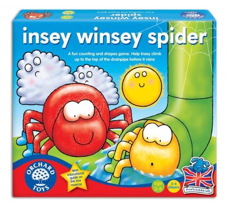 Joc educativ Cursa Paianjenilor INSEY WINSEY SPIDER0