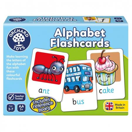 Joc educativ in limba engleza ALPHABET FLASHCARDS [0]