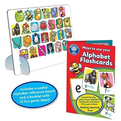 Joc educativ in limba engleza ALPHABET FLASHCARDS [5]