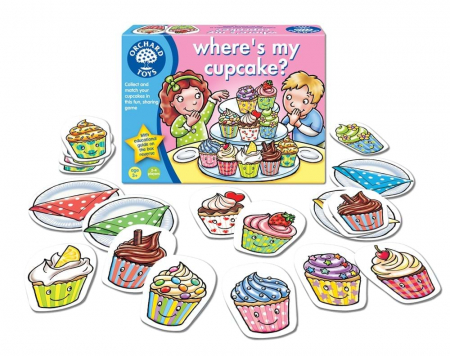 Joc educativ in limba engleza Briosa WHERE'S MY CUPCAKE? [1]