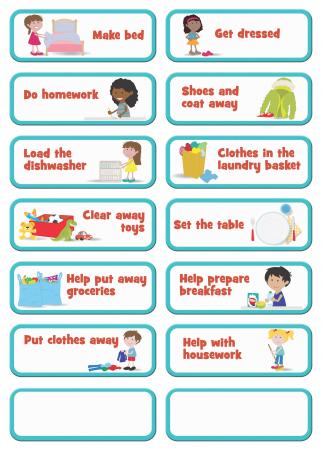 Joc educativ Organizator de activitati / My to do list - Fiesta Crafts1