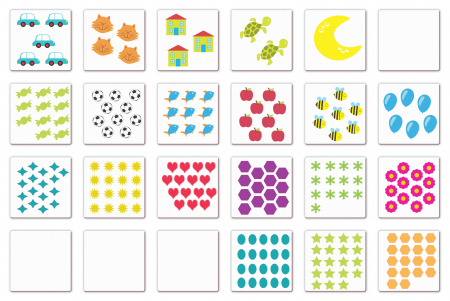 Joc educativ Primele notiuni de matematica / First Maths - Fiesta Crafts3