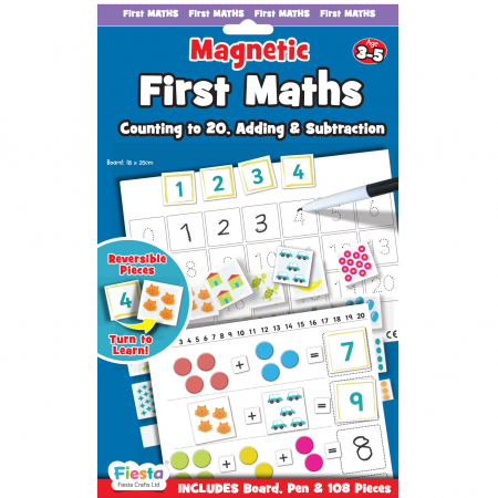 Joc educativ Primele notiuni de matematica / First Maths - Fiesta Crafts0