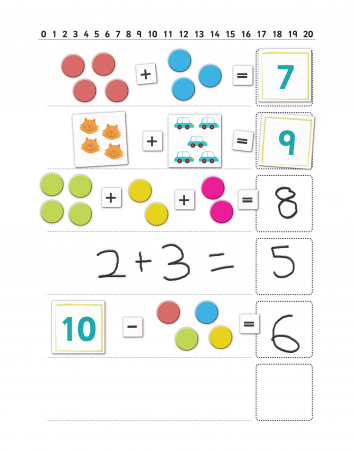 Joc educativ Primele notiuni de matematica / First Maths - Fiesta Crafts1