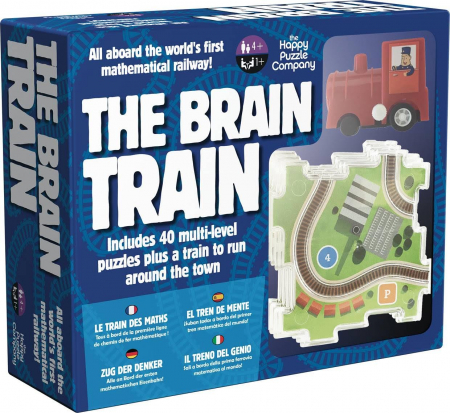 Joc educativ The Brain Train / The Happy Puzzle Company0