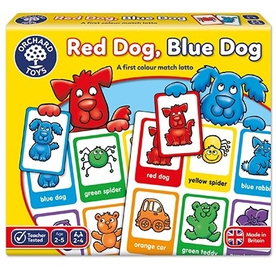Joc loto Catelusii / RED DOG BLUE DOG3