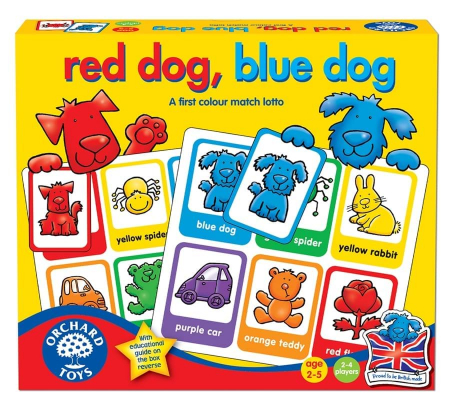 Joc loto Catelusii / RED DOG BLUE DOG0