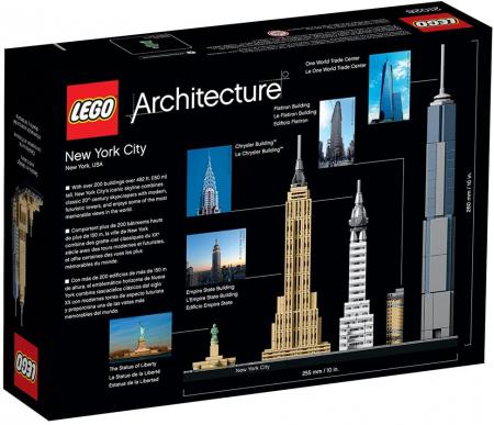 Lego Arhitecture New York 210285