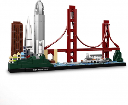 Lego Architecture  San Francisco 21043 [1]