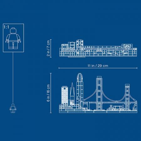 Lego Architecture  San Francisco 21043 [5]