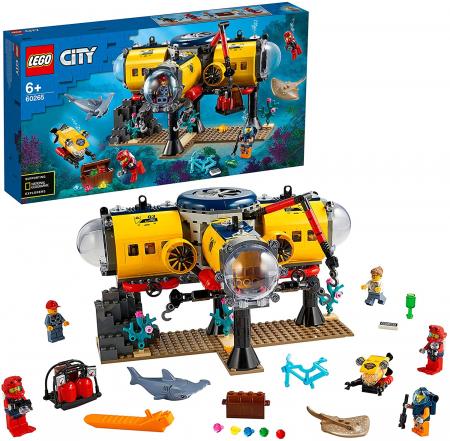LEGO CITY  BAZA DE EXPLORARE A OCEANULUI 60265 [7]