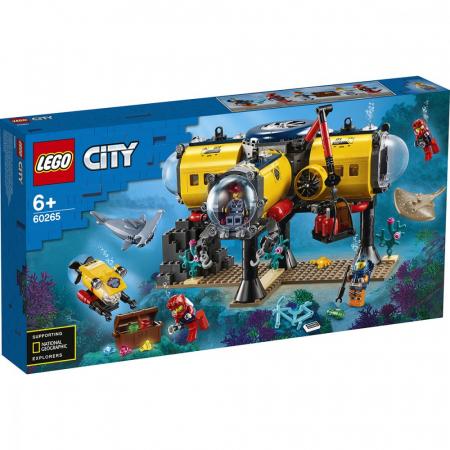 LEGO CITY  BAZA DE EXPLORARE A OCEANULUI 60265 [0]