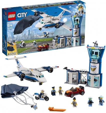 LEGO CITY BAZA POLITIEI AERIENE 60210 [4]