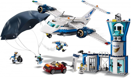 LEGO CITY BAZA POLITIEI AERIENE 60210 [1]