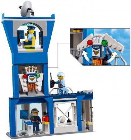 LEGO CITY BAZA POLITIEI AERIENE 60210 [5]