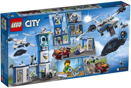 LEGO CITY BAZA POLITIEI AERIENE 60210 [8]