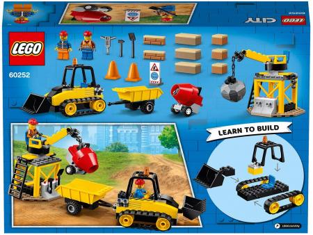 LEGO CITY BULDOZER PENTRU CONSTRUCTII 60252 [7]