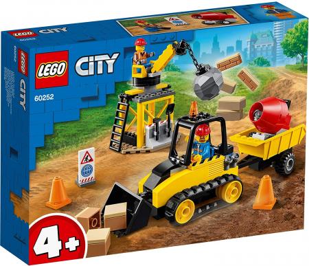 LEGO CITY BULDOZER PENTRU CONSTRUCTII 60252 [0]