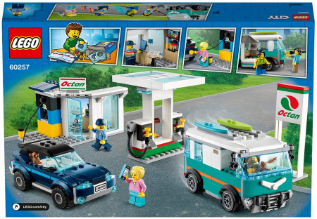 LEGO CITY STATIE DE SERVICE 60257 [5]
