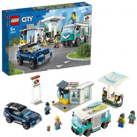 LEGO CITY STATIE DE SERVICE 60257 [3]