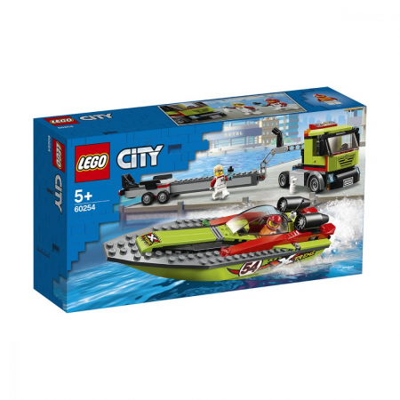 LEGO CITY TRANSPORTOR DE BARCA DE CURSE 60254 [0]