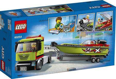 LEGO CITY TRANSPORTOR DE BARCA DE CURSE 60254 [8]