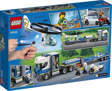 LEGO CITY TRANSPORTUL ELICOPTERULUI DE POLITIE 60244 [8]