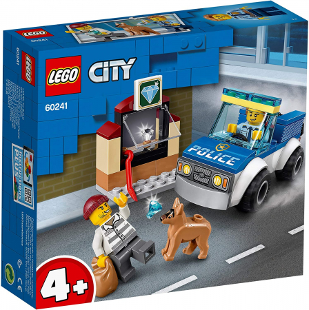LEGO CITY UNITATE DE POLITIE CANINA 60241 [0]