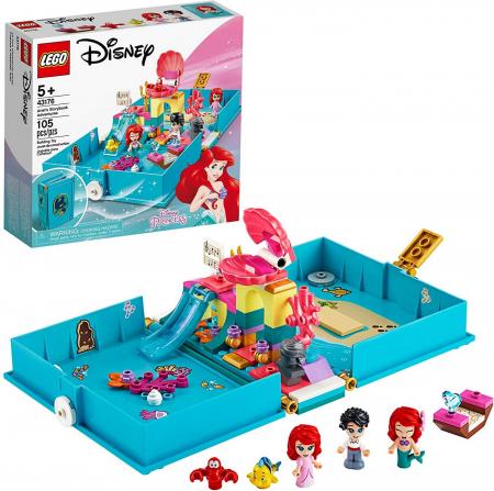 LEGO  DISNEY AVENTURI DIN CARTEA DE POVESTI CU ARIEL 43176 [3]