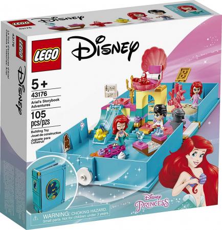 LEGO  DISNEY AVENTURI DIN CARTEA DE POVESTI CU ARIEL 43176 [0]